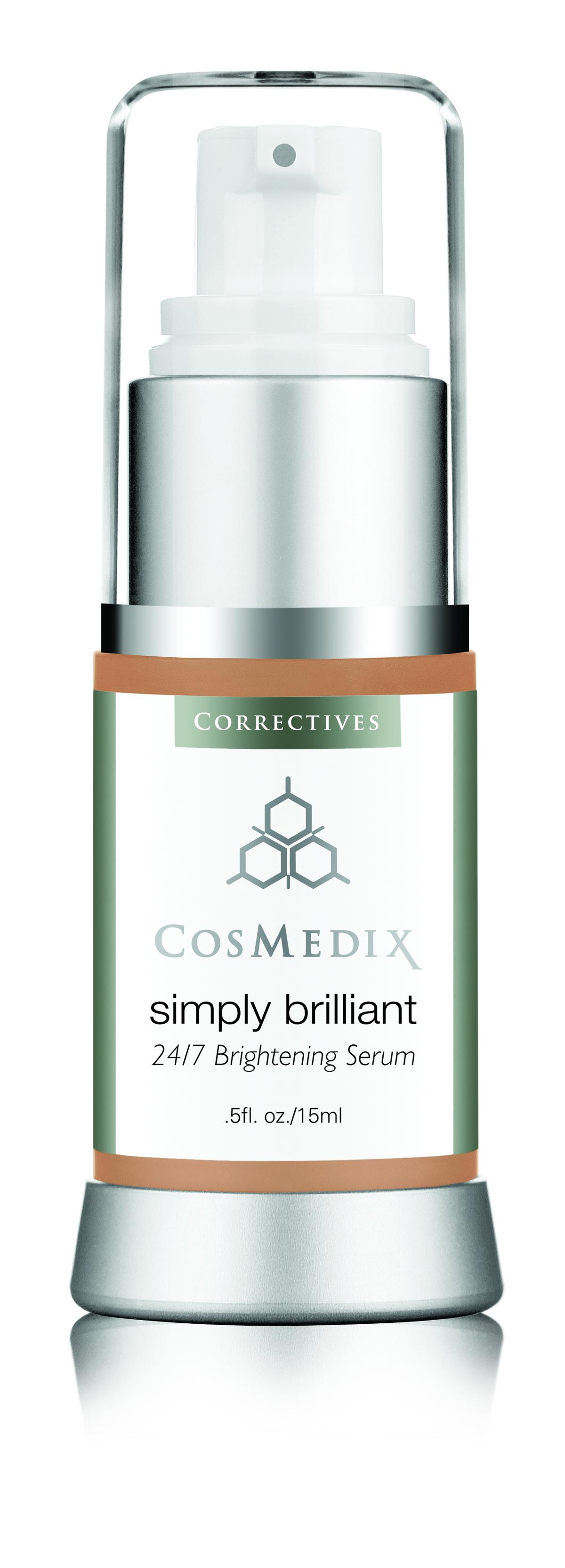 Cosmedix Simply Brilliant 24/7 Brightening Serum - Bellyrubz